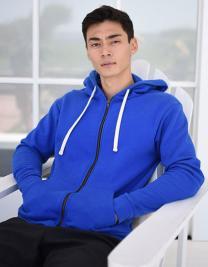 Unisex 80/20 Fleece Zip Hoody