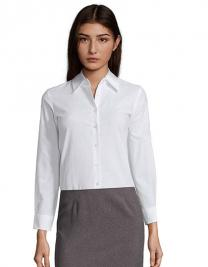 Ladies` Oxford-Blouse Embassy Longsleeve