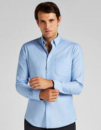 Slim Fit Workwear Oxford Shirt Long Sleeve